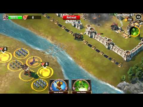 Siegefall - Gameplay | PVP battle