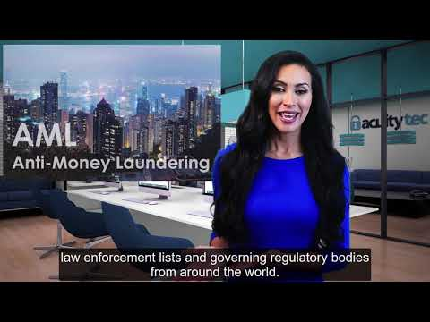 Acuitytec Anti-Money Laundering Solution!
