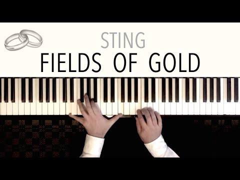 Sting - Fields Of Gold (Wedding Version) - featuring Beethoven's 'Ode To Joy' | Piano Cover
