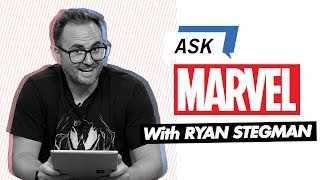 Venom artist Ryan Stegman answers a whole host of your Twitter questions! | Ask Marvel