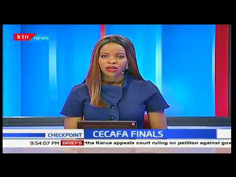 Harambee Stars goalkeeper Patrick Matasi secures Kenya's 7th CECAFA Cup against Zanzibar in Machakos