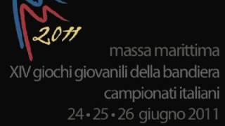 preview picture of video 'Presentazione XIV Campionati giovanili della Bandiera - Massa Marittima 2011.m4v'
