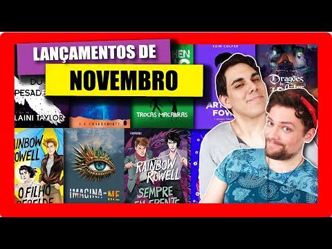 LANÇAMENTOS DE LIVROS DE NOVEMBRO | 2020