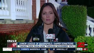 Junior League of Bakersfield holding a diaper drive through November 15th