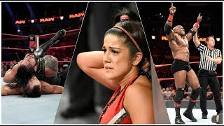 WWE RAW 7/16/18 REVIEW    A Bayley & Sasha Banks Lesbian Angle?    #GetNewWriters