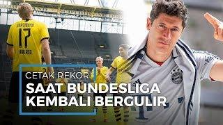 Haaland dan Lewandowski Langsung Cetak Rekor ketika Bundesliga Resmi Kembali Digelar