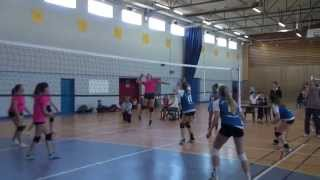 preview picture of video 'Championnat Inter Academique Volleyball - Ferney-Voltaire'