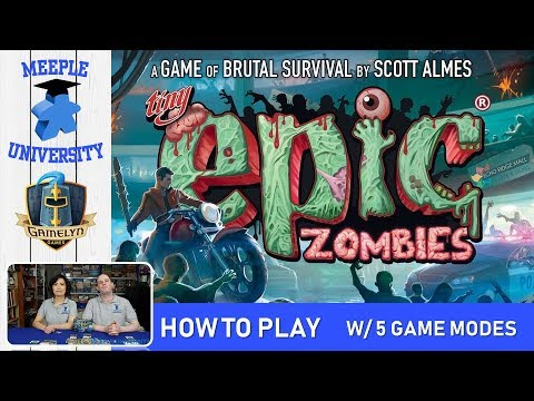 Tiny Epic Zombies Board Game – How to Play & Setup, with 5 Game Modes