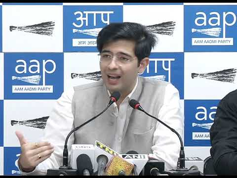 AAP Leader Raghav Chadha Briefs on how Purvanchali's are been Tortured in States Guj & Maharashtra