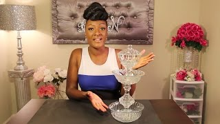 DIY DOLLAR TREE CANDY DISH | SERVING TRAY | PARTY DISH | 3 TIER FOOD SERVING TRAY