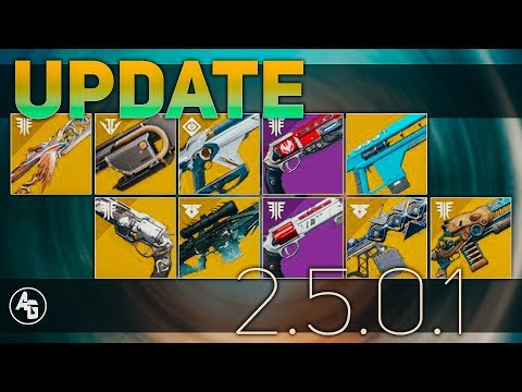 Destiny 2 Sandbox Update 2.5.0.1 (Complete Patch Notes)