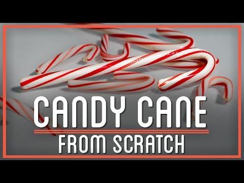 Turning Sugarcane Into Candy Canes | HTME