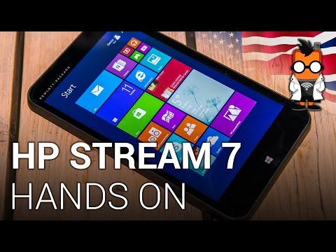 HP Stream 7 - 99 dollar tablet with Windows 8.1 - Hands on [ENGLISH]