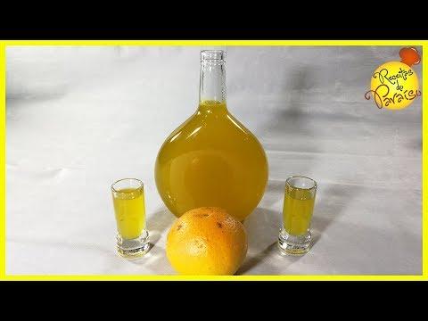 Licor de Laranja - rec 1