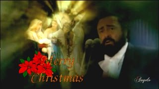 Luciano Pavarotti  Ave Maria  Merry Christmas