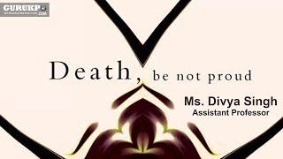 Death be not Proud(BA)