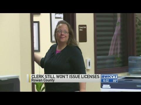 Rowan County clerk Davis again asks for delay in gay marriage case