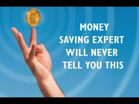 """Audio book """"Money saving expert will never tell you this"""" about how to save money easily"""