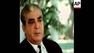 SYND 1-12-70 AN INTERVIEW WITH PAKISTANI PRESIDENT KHAN