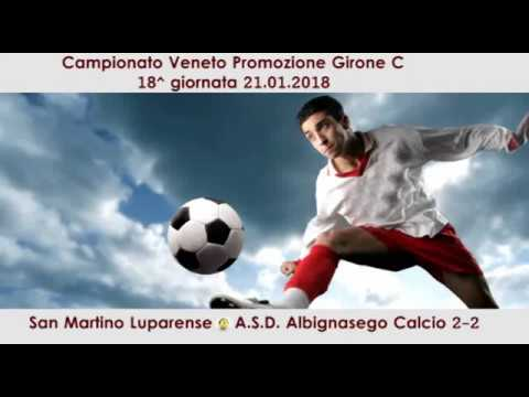 Preview video San Martino Luparense- Albignasego Calcio 2-2 (21.01.2018)