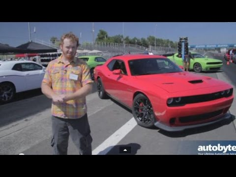 Video: 2015 Dodge Challenger HellCat Muscle Car