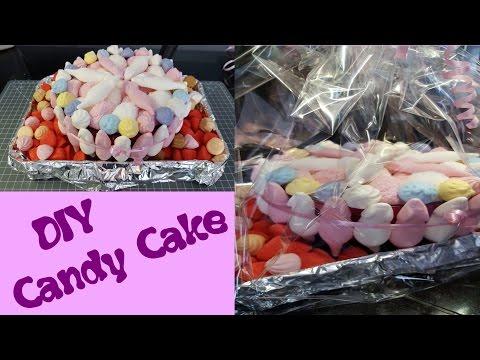 Haribo Torte/🍭candy cake🍭/Geschenk Idee/DIY in 10 min. für ca.7€