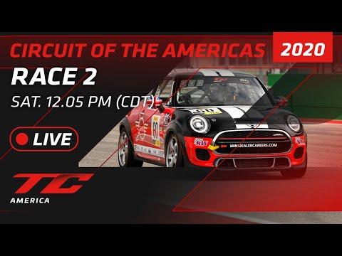 2020年 ブランパンGTワールドチャレンジ・アメリカ(COTA)TCR / TC / TCA レース2 レースライブ配信動画