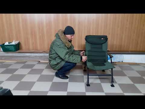JRC Defender Armchair horgászfotel videó