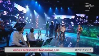 """LRT projektas """"Dvi žvaigždės"""": Arina ir Aleksandras Ivanauskas (miuziklas)"""