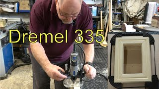 Dremel 335 Plunge Router Attachment - Review and Demonstration