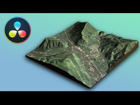Download Making A 3d Map With Nasa Data In Davinci Resolve