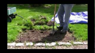 How To Create A Garden Bed Video