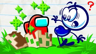 """""""Save His Sole""""   Pencilmation Kids Compilation   Animated Cartoons"""