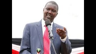Uasin Gishu governor Jackson Mandago addresses Eldoret residents after the Supreme verdict