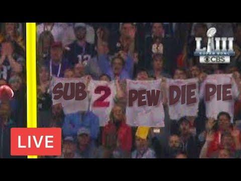 I Advertised Pewdiepie At The Super Bowl