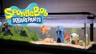 Building A SpongeBob Themed Aquarium (from Scratch)