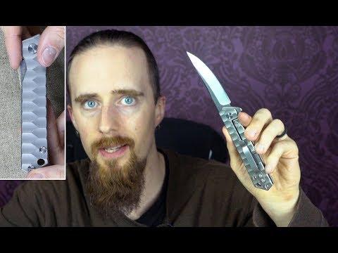 Review: Y-Start LK5010 Titanium Handle Folding Knife