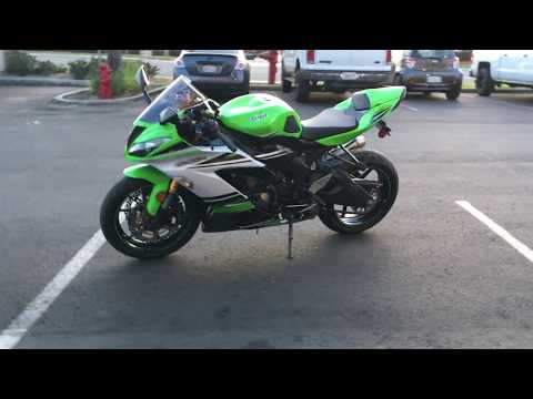 2015 Kawasaki Ninja® ZX™-6R 30th Anniversary in Murrieta, California