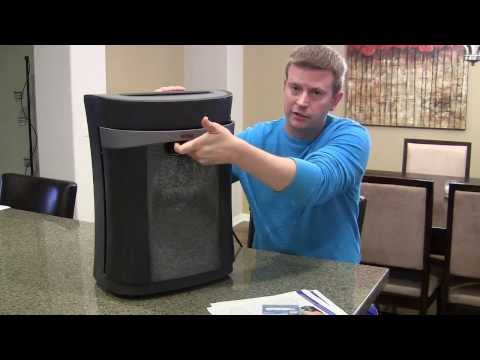 Royal Cross-Cut Paper Shredder – Review and Demonstration