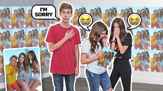 Filled My BEST FRIENDS Room With Pictures Of Her Ex-BOYFRIEND *SHOCKING REACTION* | Sawyer Sharbino