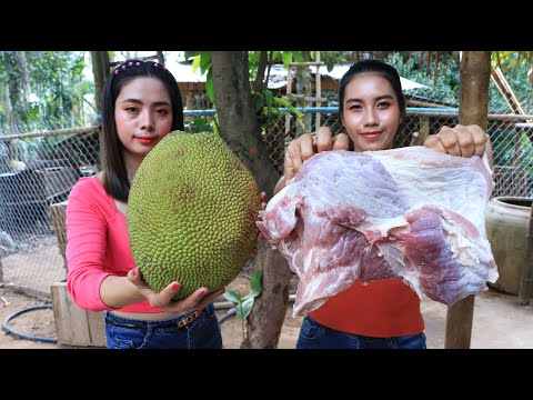 How to cook curry pork with jackfruit recipe