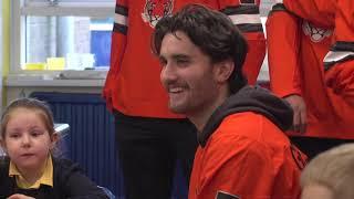 Princeton Men's Hockey : Friendship Four Belfast - School Visit