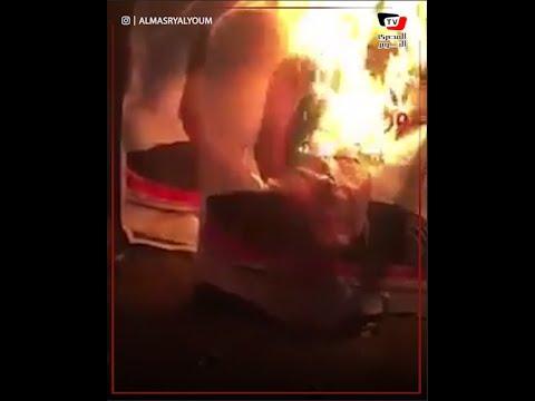 مجهولون يحرقون الدعاية الانتخابية لمرتضى منصور بالدقهلية