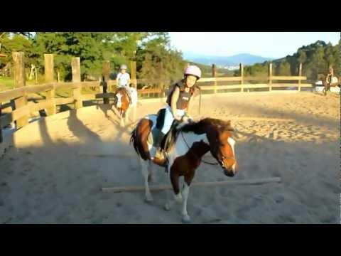 Goikomendi Escuela de Equitación. Profesor Ander Galíndez. HD Clases de Iniciación.