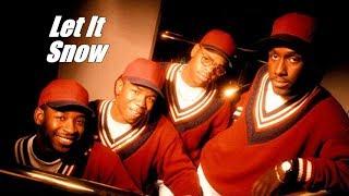 "Boyz II Men ft. Brian McKnight - ""Let It Snow"" w-Lyrics 1993"