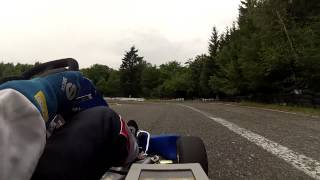 preview picture of video 'E-Kart testování Písek 2014'
