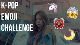 THE ULTIMATE KPOP EMOJI CHALLENGE !!