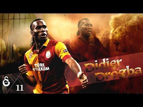 Didier Drogba Galatasaray Golleri 2013-2014 (видео)