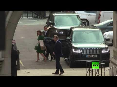 العرب اليوم - شاهد: وصول الأميرة هيا بنت الحُسين إلى المحكمة العليا في لندن