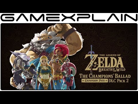 Zelda: BotW DLC Pack 2 – First Test Footage & Wind Waker Shirt Revealed